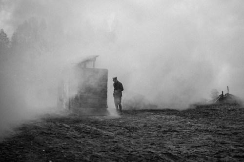 smoke, battle, war