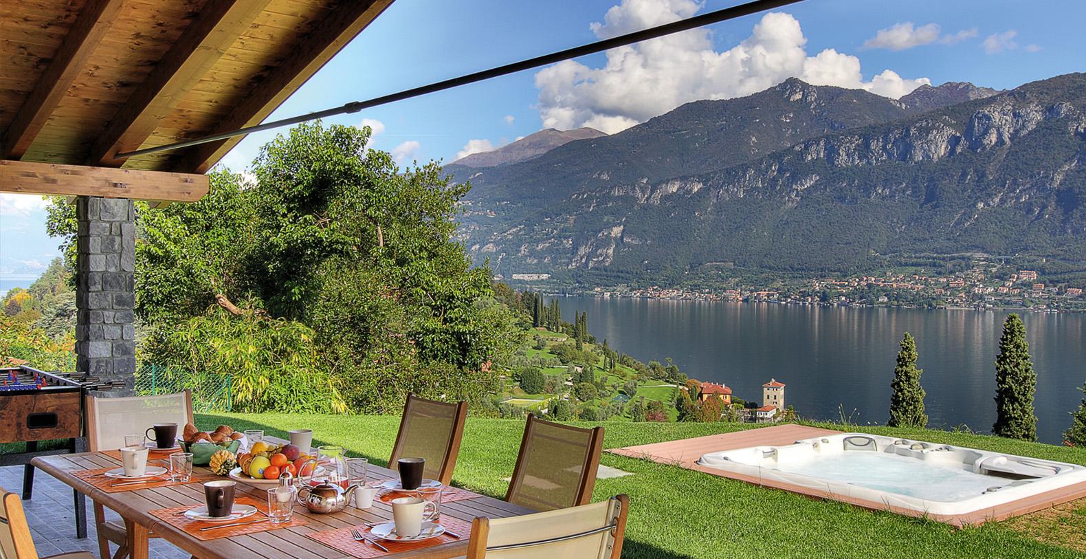 Villa Sissi Aureggio. Bellagio. Lake Como Vacation Rentals Italy
