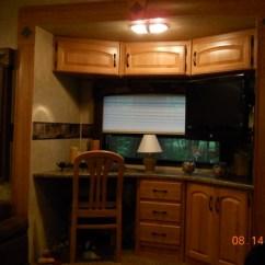Kitchen Island With Wheels Banquette Furniture 2009 Keystone Copper Canyon 5th Wheel Fsbo In Saratoga ...