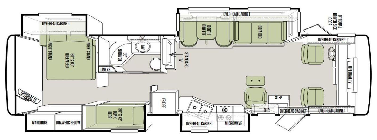 2013 Tiffin Allegro Open Road 35QBA Floorplan?resize\\\\\\\=665%2C247 23 hp vanguard wiring diagram 9 hp honda wiring diagram, onan 16 11Hp Vanguard at edmiracle.co
