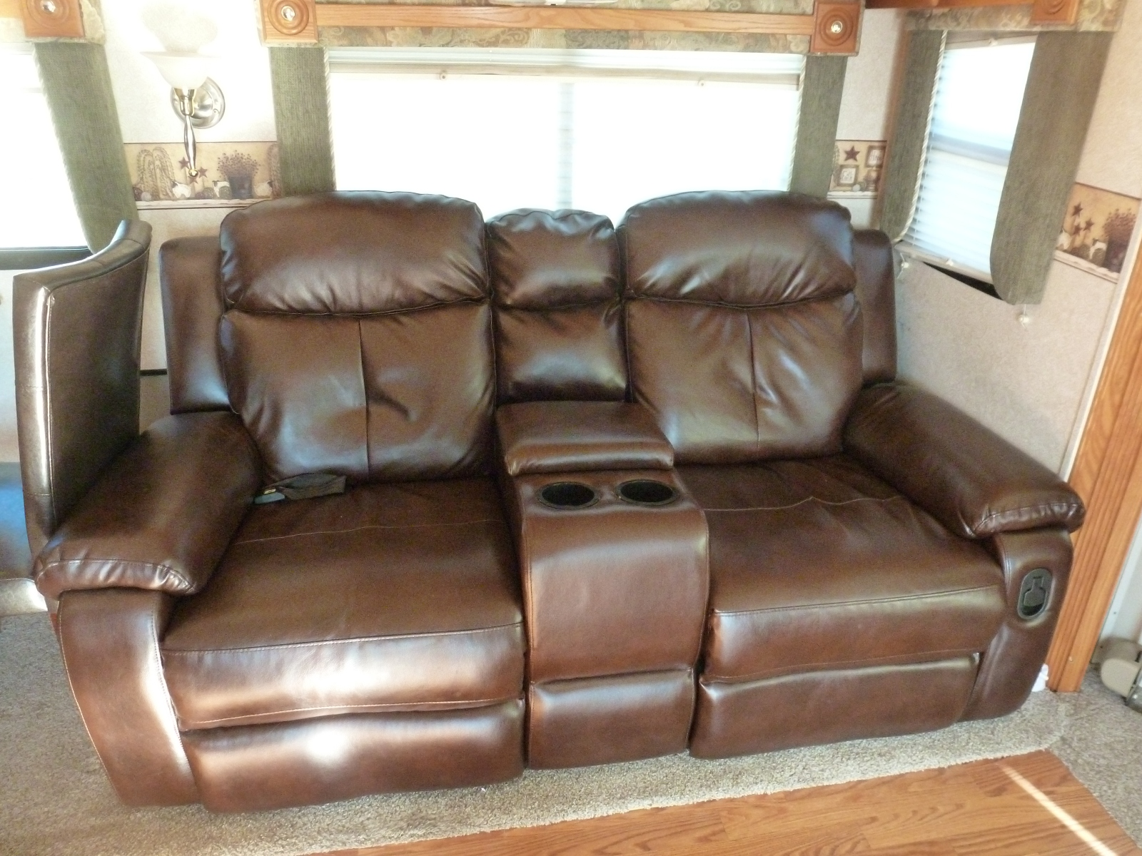 used oak table and chairs office stool chair with wheels gulf stream crescendo 8356   motorhomes for sale by owner