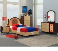 basketball bedroom