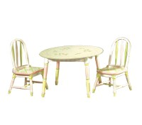 DreamFurniture.com - Teamson Kids Girls- Table and Set of ...