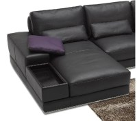 DreamFurniture.com - 942 - Contemporary Italian Leather ...