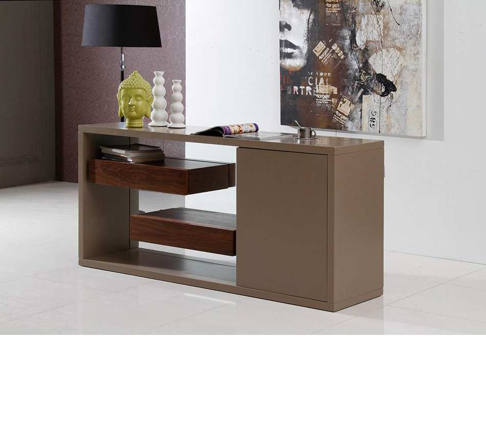 DreamFurniturecom  Levi  Contemporary Buffet With