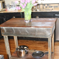 Kitchen Island Rustic Havertys Tables Dream Garden Woodworks