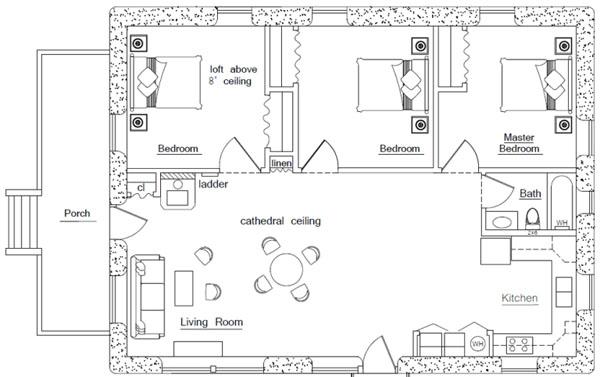 Crow House Plan