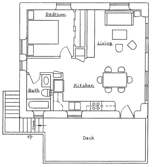 Garage/Apartment Plan