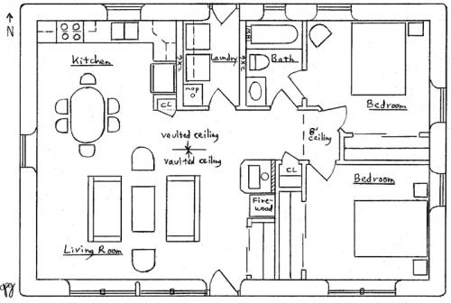 Solar Ranch House Plan