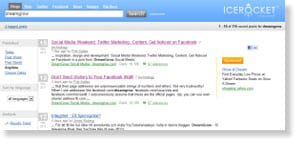 icerocket Free Social Media Monitoring Tools