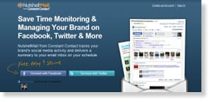 nutshellmail 48 Free Social Media Monitoring Tools