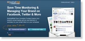 nutshellmail Free Social Media Monitoring Tools