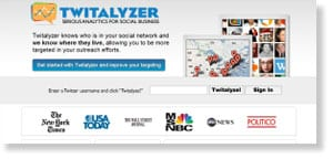 twitalyzer 48 Free Social Media Monitoring Tools