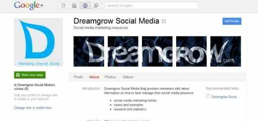 Google+ plus page