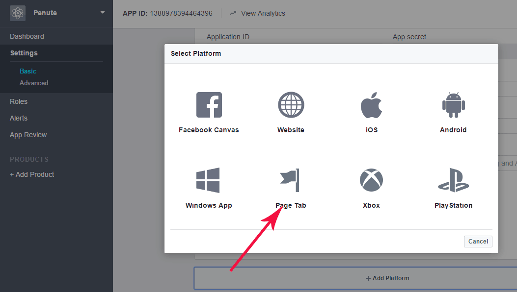 how to know the email id of a facebook user