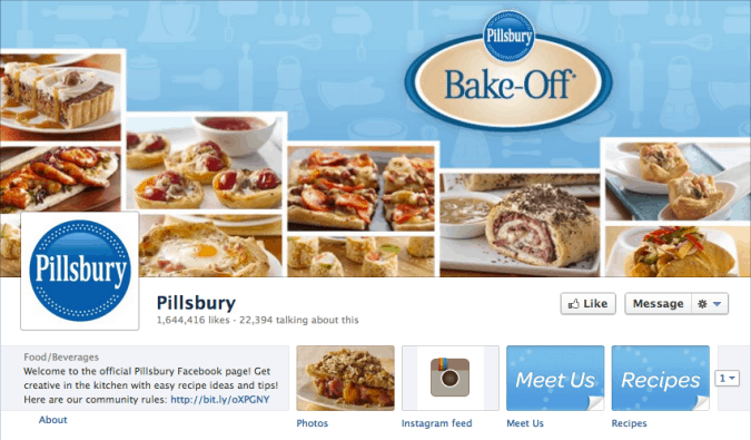 pillsbury facebook cover photo