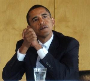 Marine Hates on Obama.