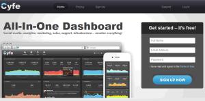 cyfe Free Social Media Monitoring Tools