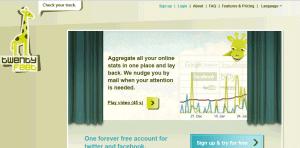 twentyfeet1 300x148 54 medios de comunicación social gratis herramientas de monitoreo [Update2012]
