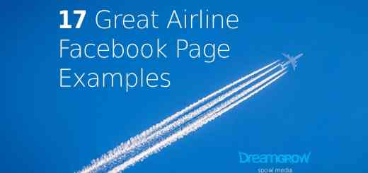 airline facebook page examples