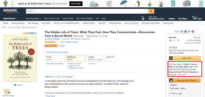 amazon cta call to action urgency
