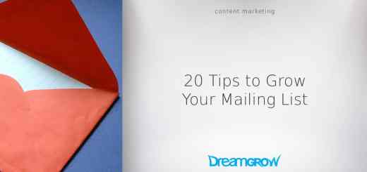 tips to grow your mailing list