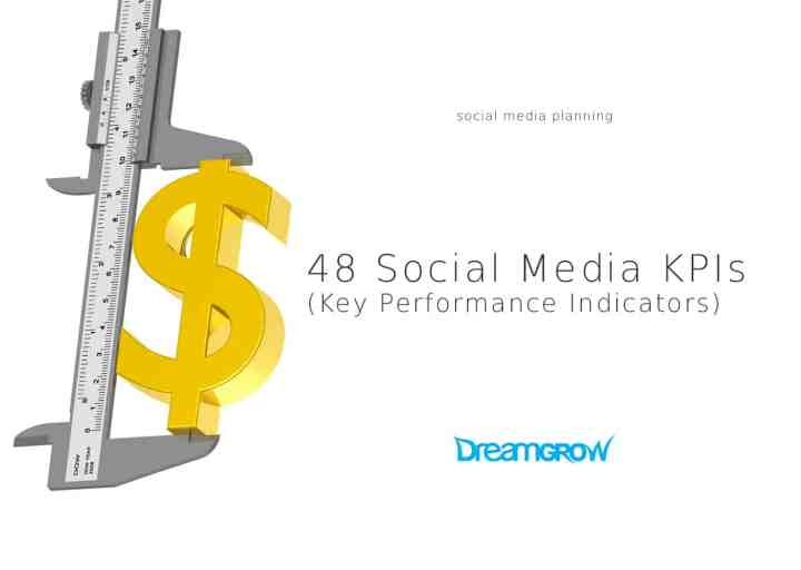 social media kpis key performance indicators