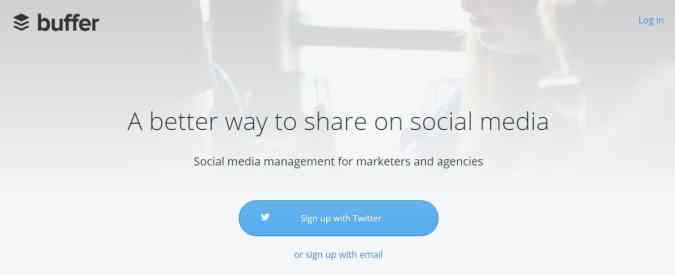 buffer content marketing management tool
