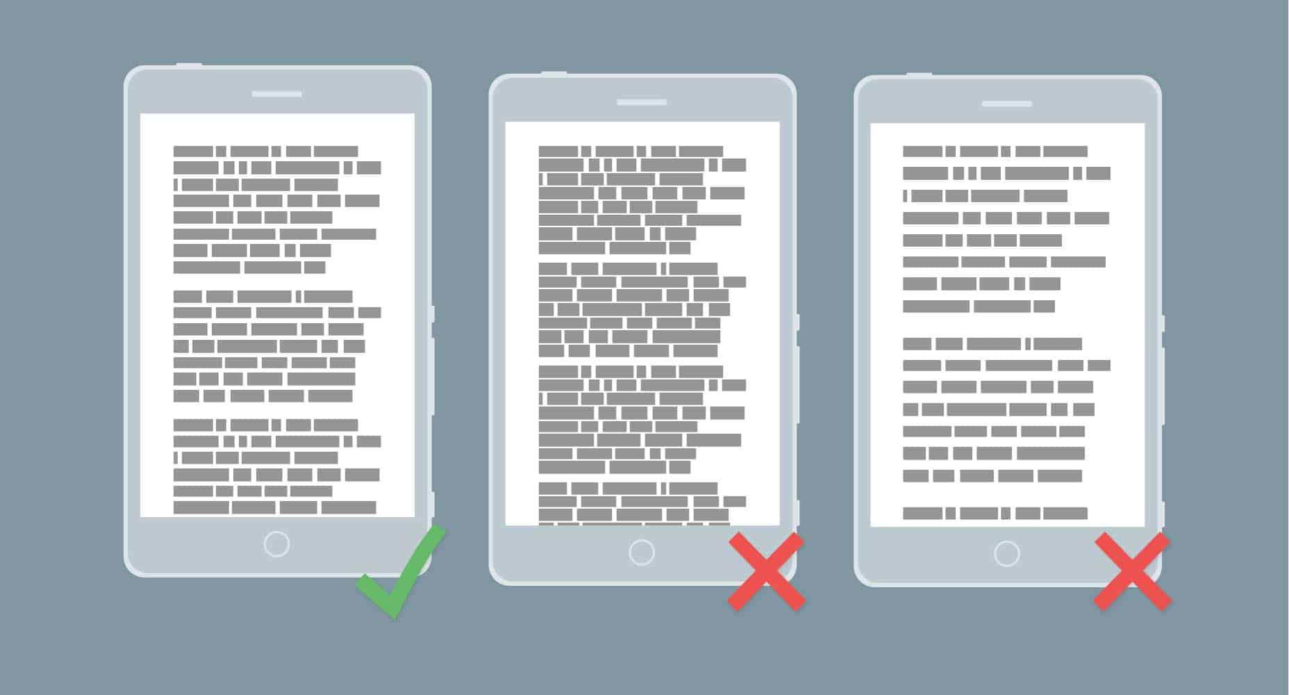 mobile-paragraph-rules