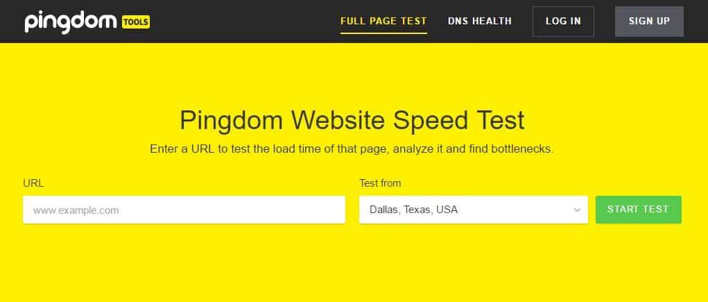 pingdom-website-speed-test