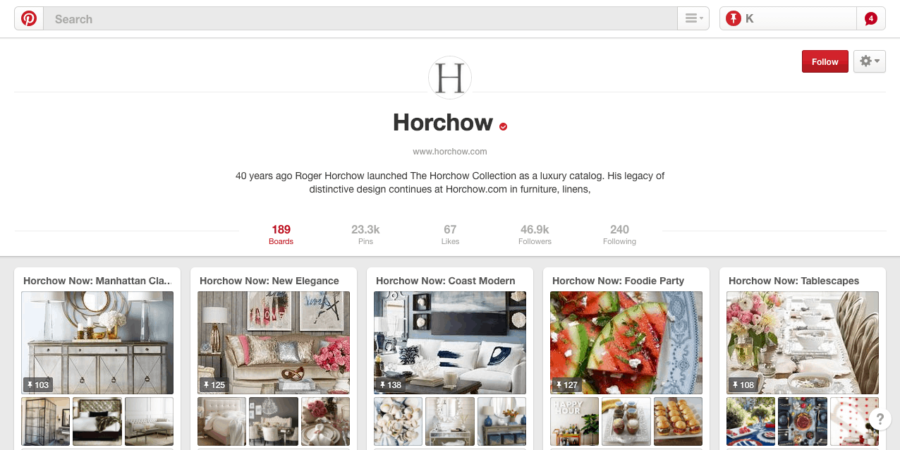 horchow-pinterest-marketing
