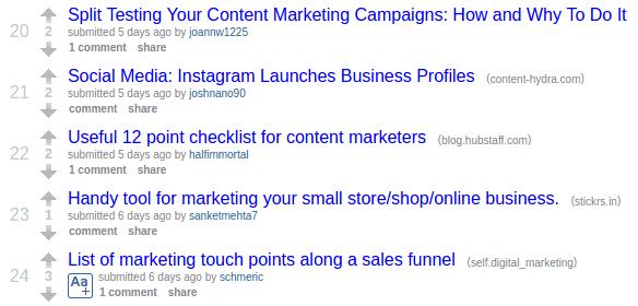 reddit-quality-content