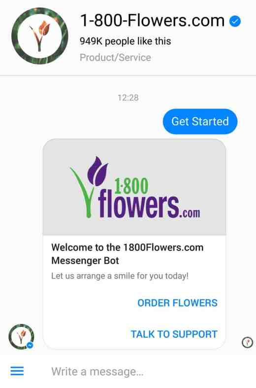 1-800-flowers messenger bot