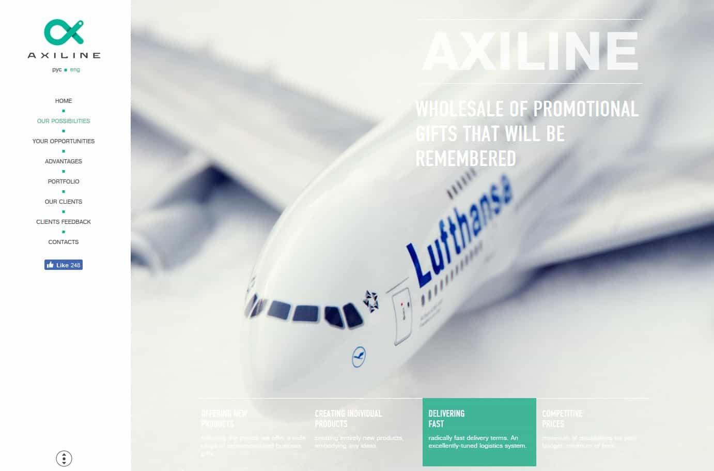 axiline-website