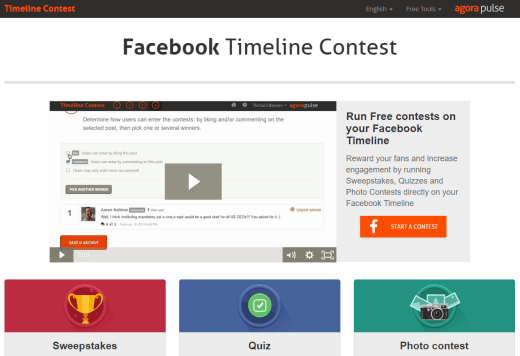 7 free facebook page tools to make your life easier now for Facebook photo contest rules template