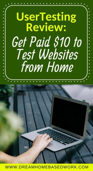 Get Paid $10 to Test Websites from Home - UserTesting #WorkfromHome Review