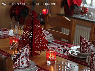Scandinavian Style Christmas Table