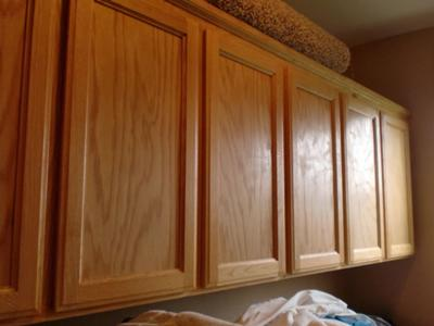 DIY Kitchen Makeover Easy Change From Simple Oak To