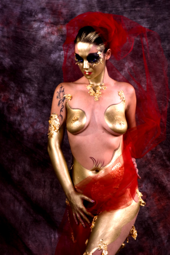 Sensual Body Painting photo by Morgan Capasso