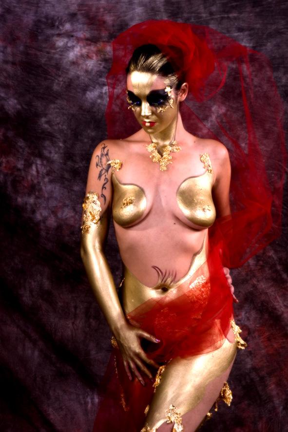 Sensual Body Painting photo by Morgan Capasso