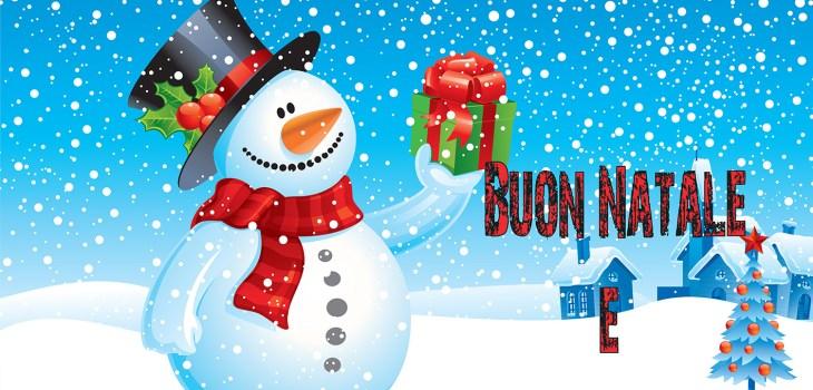 Buon Natale e felice anno nuovo.