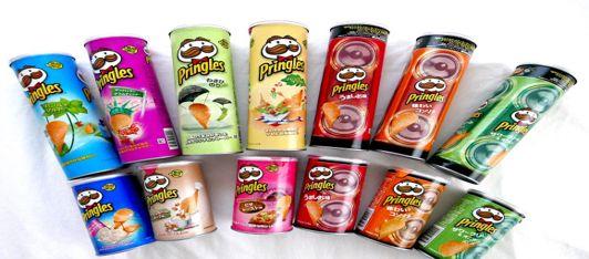 Milioni di gusti di… Pringles!