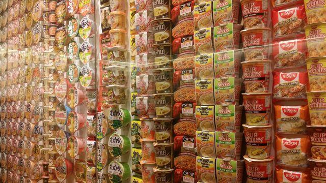 La storia dei noodles istantanei