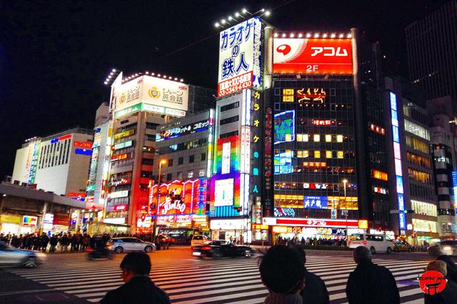 Tour Tokyo by night