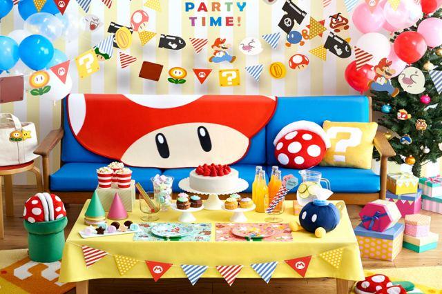 Nintendo promette ai fan una serie di gadget per i party a tema Super Mario