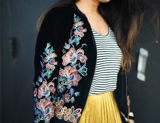 how-to-wear-embrodery-bomber-jacket
