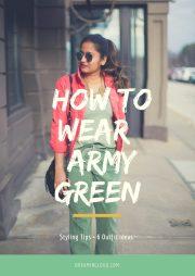 wear khaki 6 outfit ideas