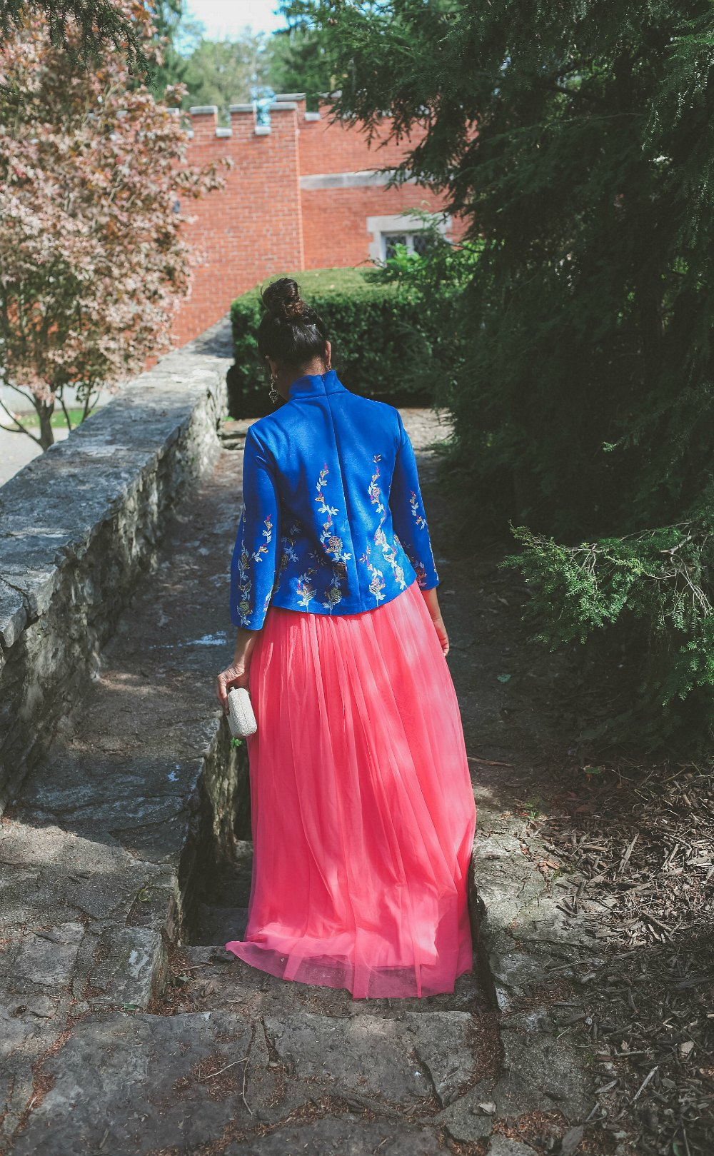 Diwali Outfit with a Pink Tulle Maxi Skirt  Fashion  Dreaming Loud