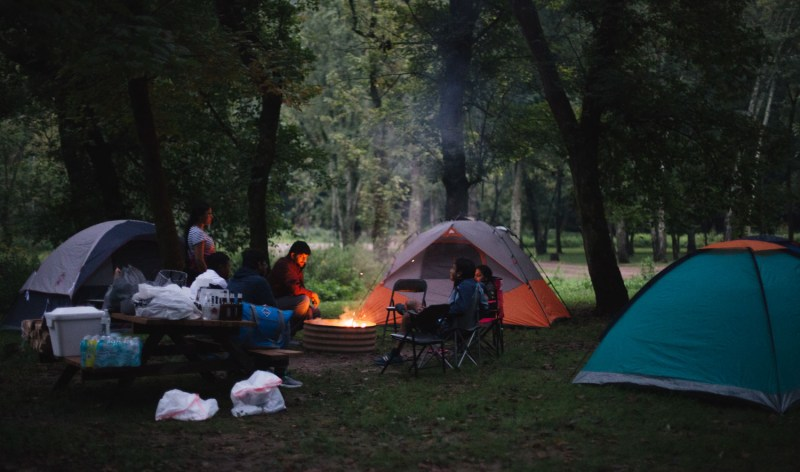 Lifestyle blogger Surekha of Dreaming Loud sharing fall tent camping checklist on what to expect, what to wear and what to bring with you 2
