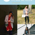 Lifestyle blog dreaming loud sharing style tips on how to wear boyfriend plaid blazer in 10 ways